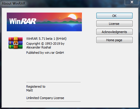 Direct - WinRAR v5 71 Beta 1 | Team OS : Your Only