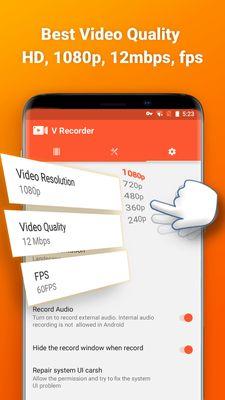 Screen Recorder V Recorder - Audio, Video Editor v2 7 2