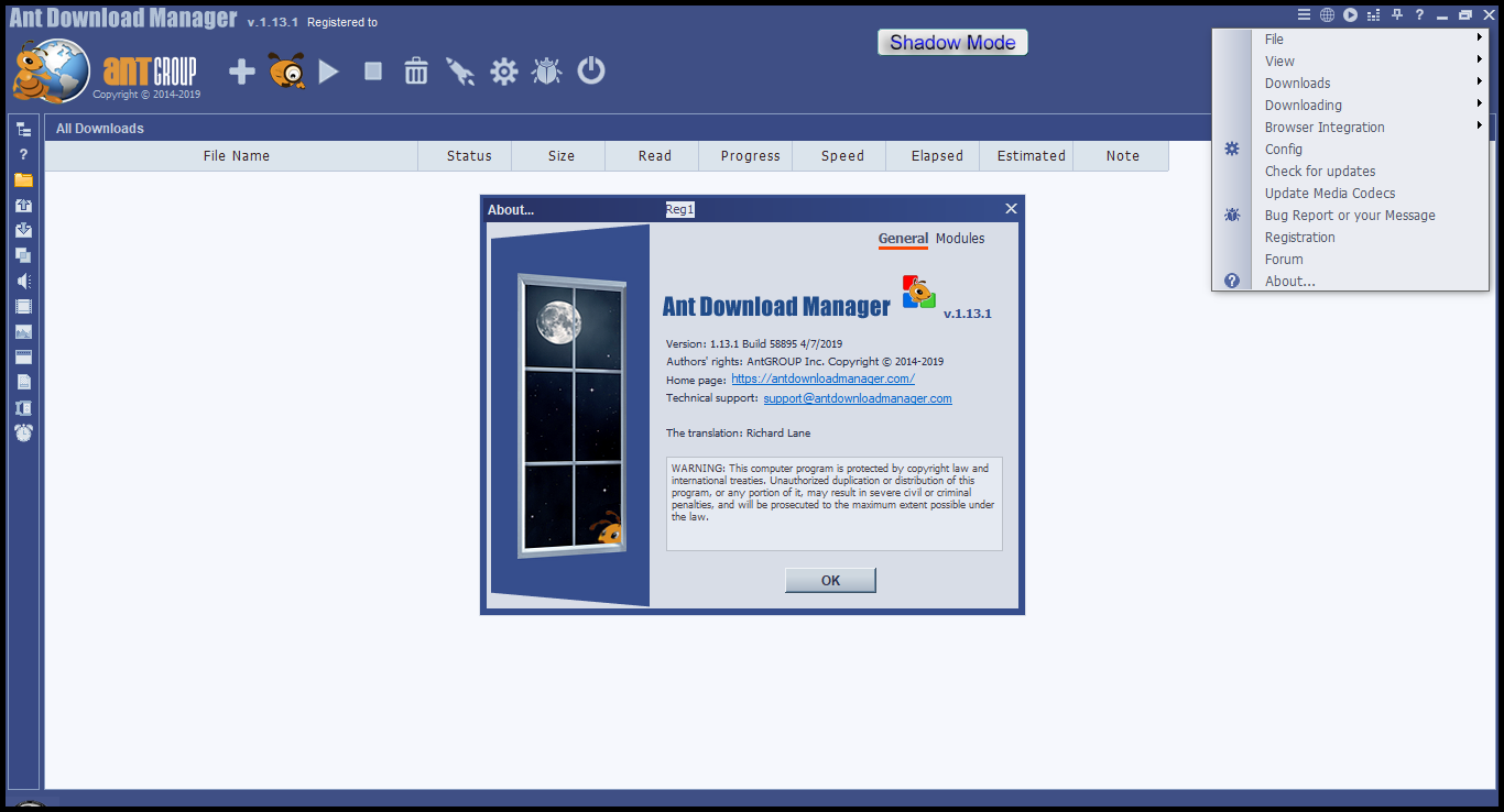 Direct - Ant Download Manager PRO version 1 13 1 Build 58895