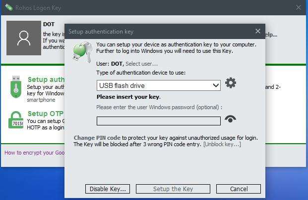 Locked - Rohos Logon Key 4 1 Multilingual | Team OS : Your