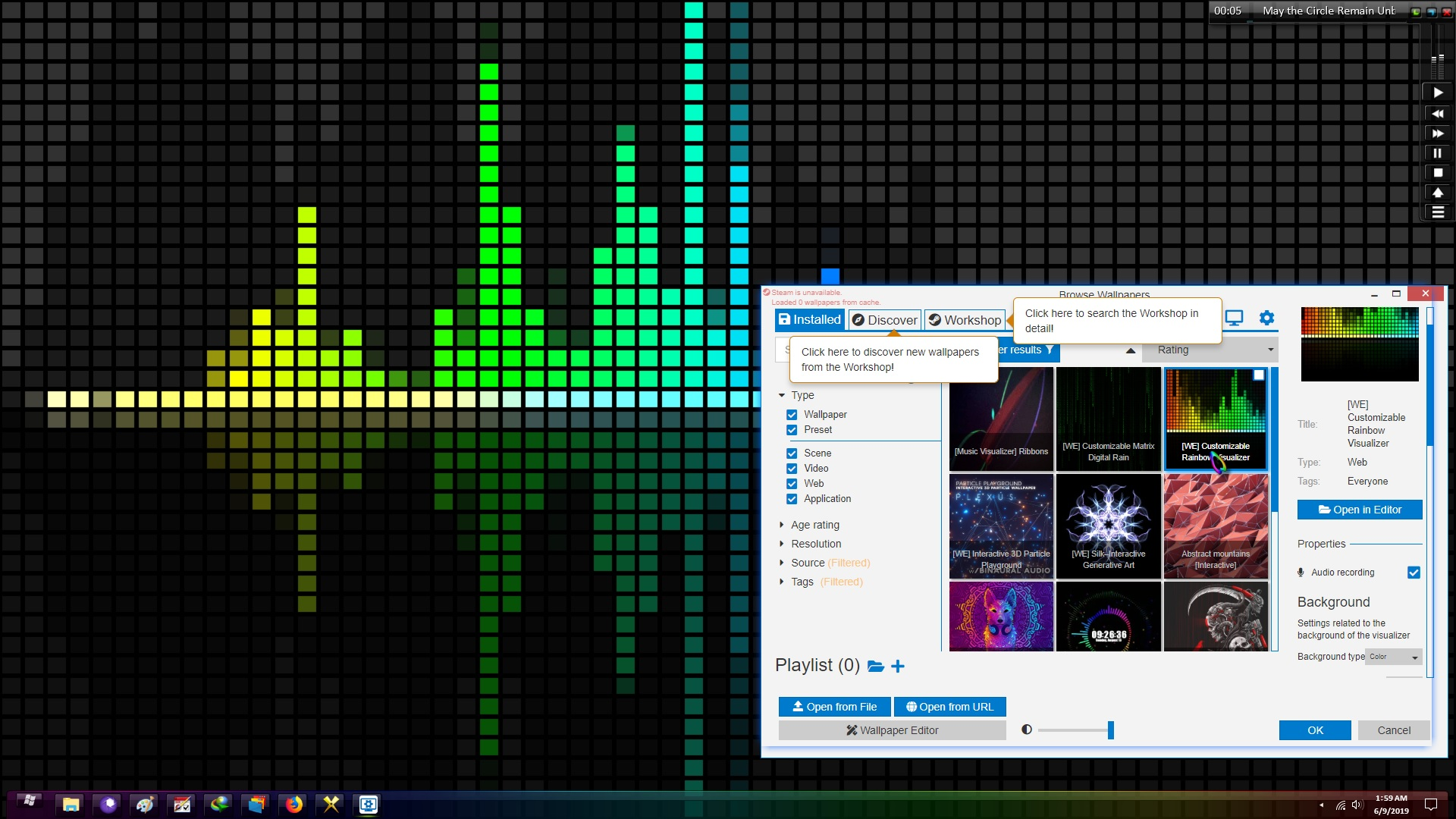 steam wallpaper engine how to use