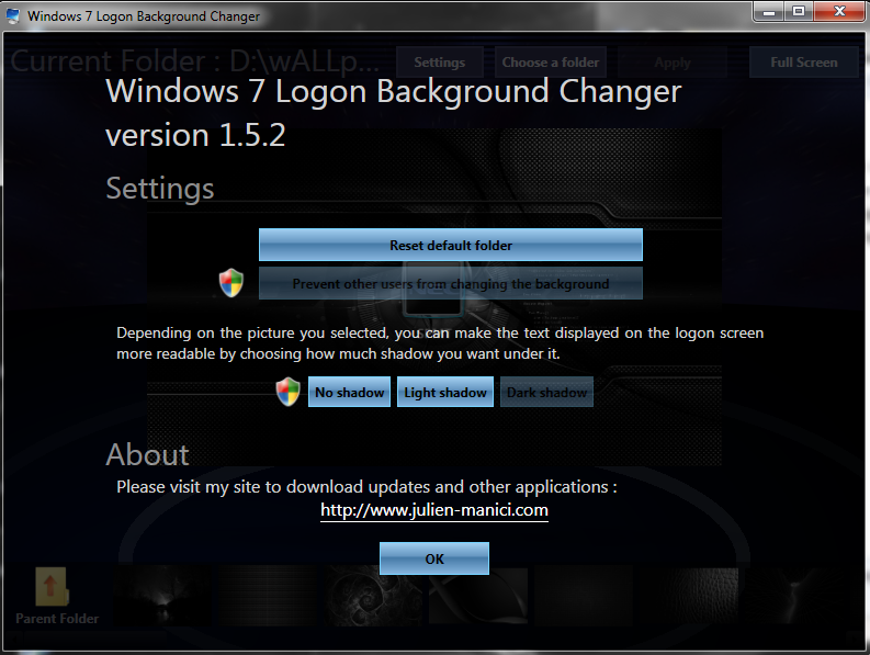 Direct - Win7LogonBackgroundChanger v1 5 2 (portable) | Team
