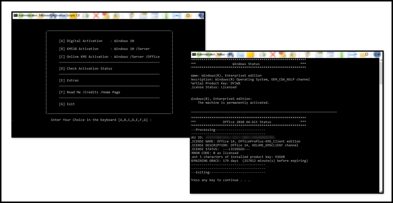 Direct - Microsoft Activation Scripts version 1 0 -=TeamOS