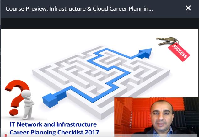 Tutorials - Udemy – Infrastructure & Cloud Career Planning 2018
