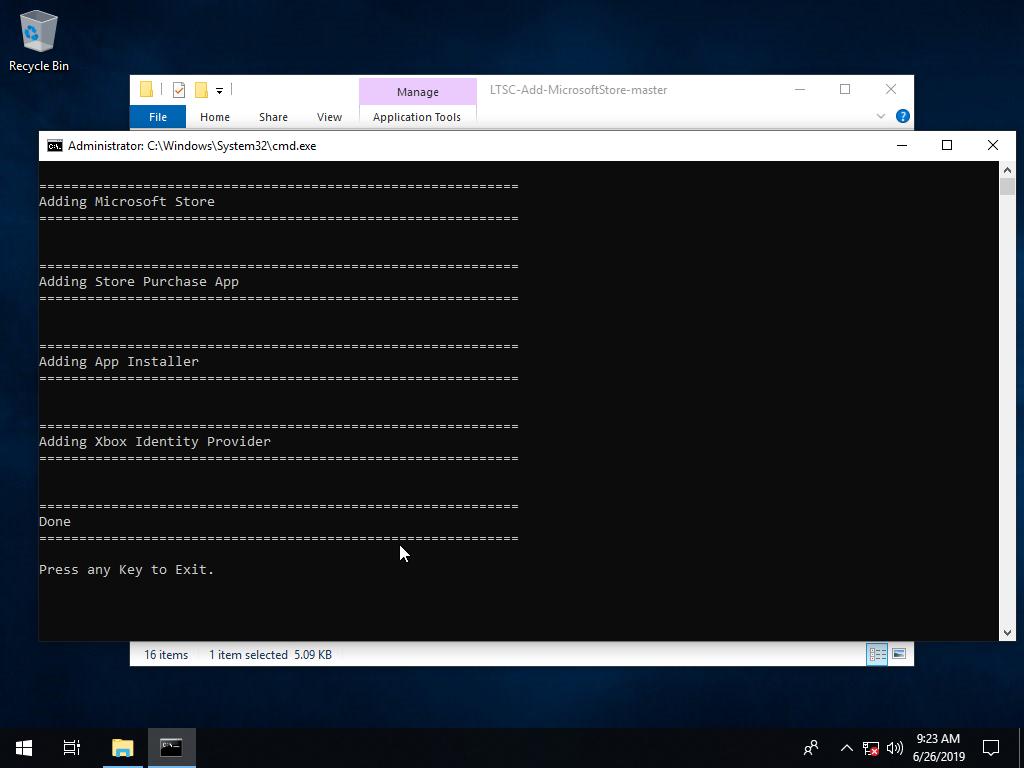 Direct - Add Microsoft Windows Store to Windows 10 LTSC Build   Team