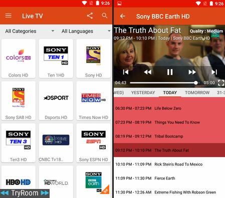 Live TV v1 846 [Mod] - ReleaseAPK