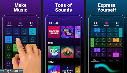 Groovepad - Music & Beat Maker v1 0 0 [Mod] - ReleaseAPK