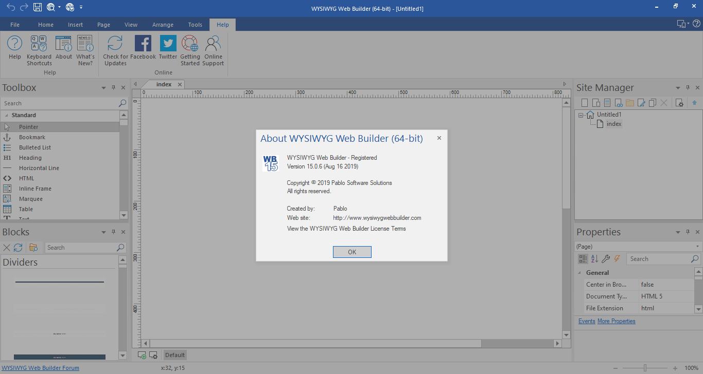 Direct - WYSIWYG Web Builder v15 0 6 [x86/x64] with crack
