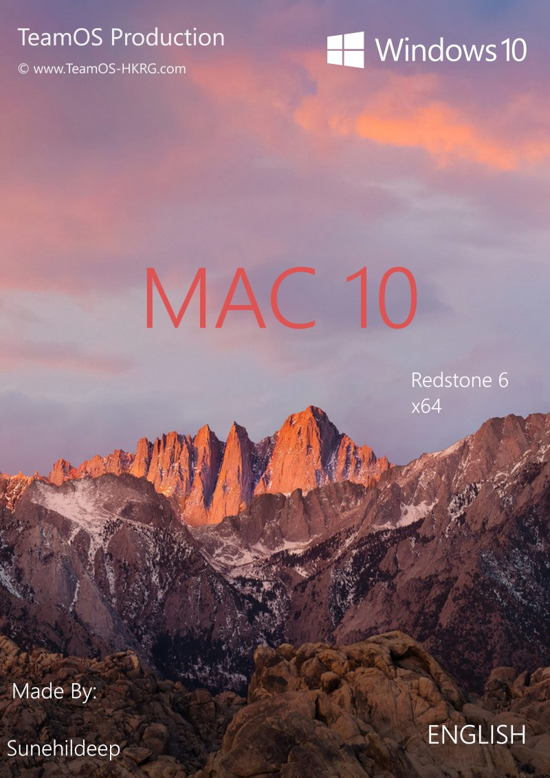 Torrent + Direct - Mac10 [Win10 RS 6 x64] (Dark & Light