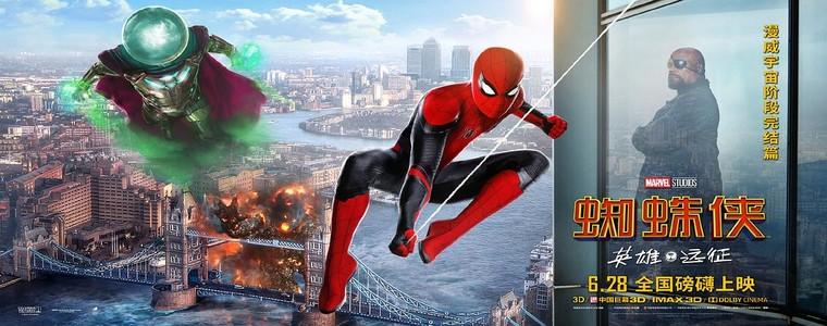 2019好莱坞科幻大片《蜘蛛侠:英雄远征》高清迅雷下载