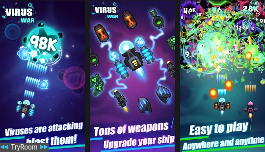 Virus War   Space Shooting Game V1.6.0 [mod]