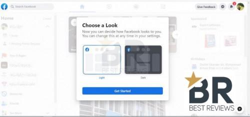 Facebook Beta Welcome Screen 1