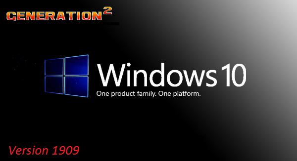 Windows 10 x64 Enterprise Version 1909 Build 18363.1411 ESD en-US Febuary 2021