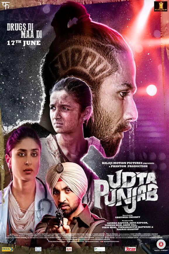 Udta Punjab (2016) 1080p Blu-Ray Rip x264 TrueHD Atmos 7.1 ESub DUS – IcTv   14.2 GB  