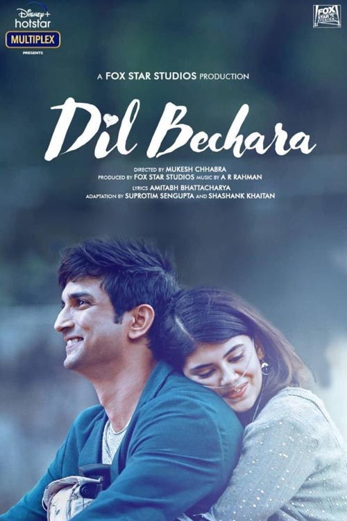 Dil Bechara (2020) 2160p SDR HEVC HDRip DDP 5 1 MultiSubs-DUS