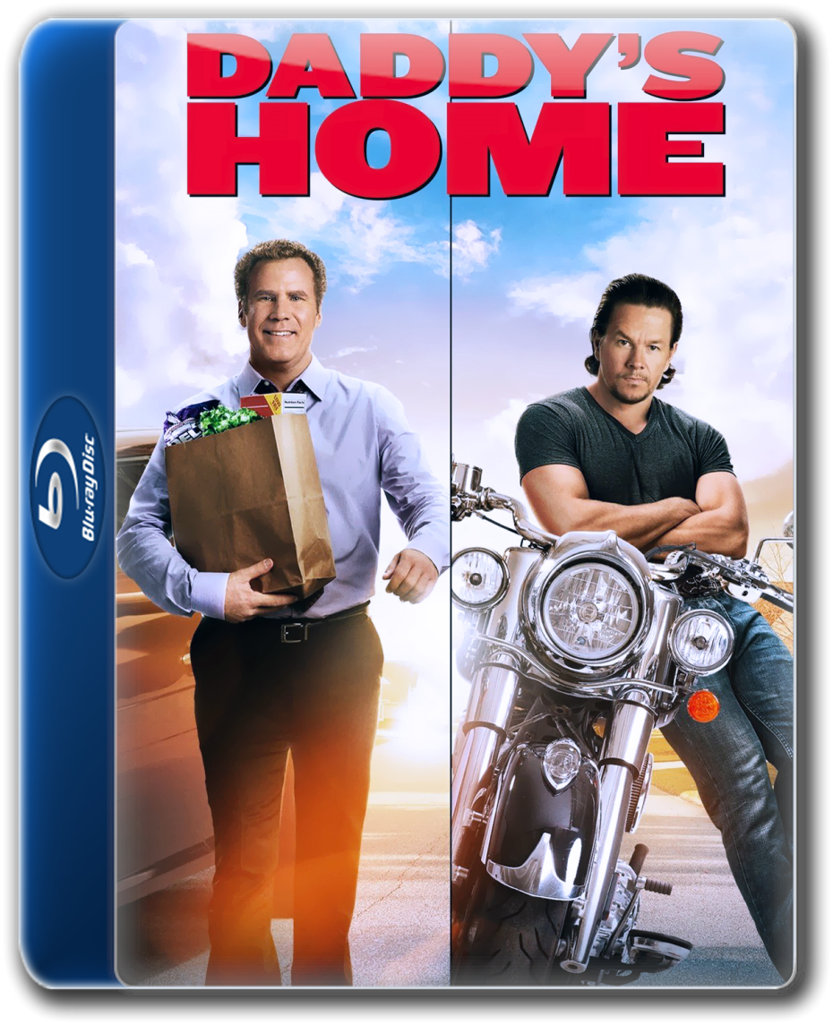 Daddys Home (2015) 1080p BluRay x264 DD5 1 {Dual Audio} {Hindi+English}-Hammer