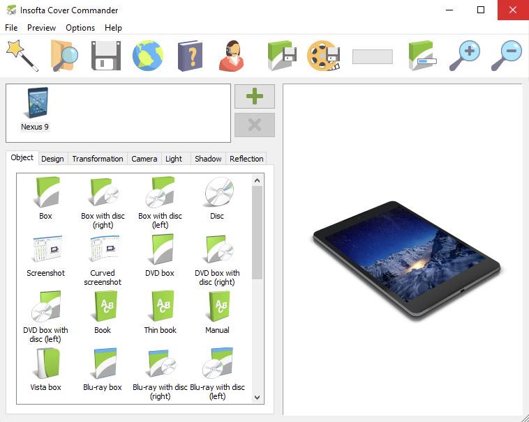 Insofta Cover Commander 6.7.0 + Keygen