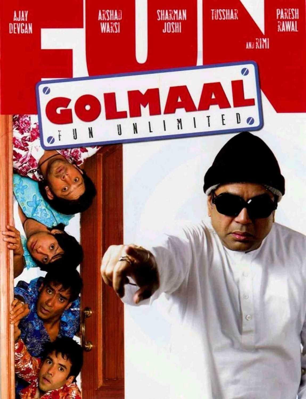 Golmaal Fun Unlimited 2006 1080p NF WEB-DL DDP5.1 H264-Ranvijay – DUSIcTv | 8 GB |
