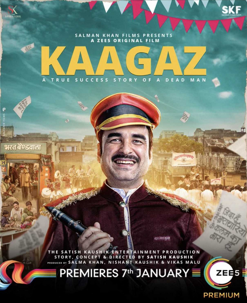 Kaagaz (2021) 1080p WEB-DL x264 AAC-DUS Exclusive