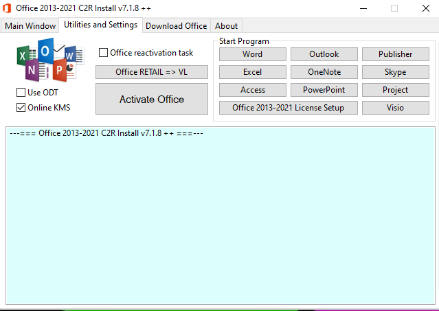 Microsoft Office 2016-2021