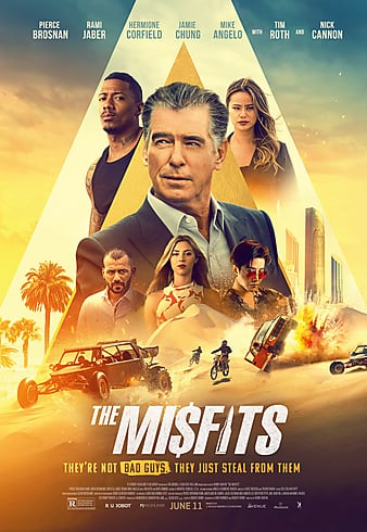 The Misfits English Poster