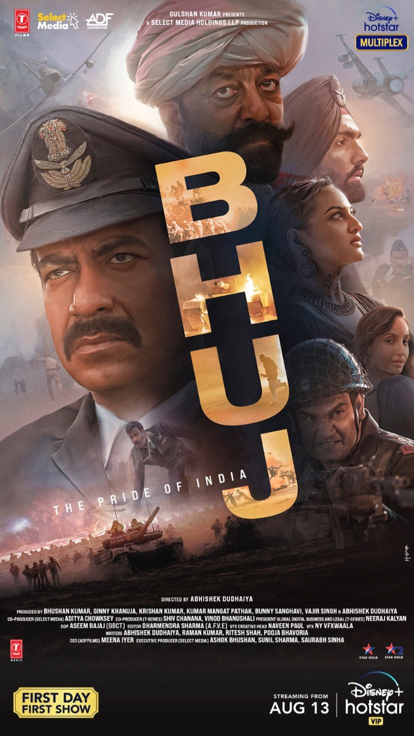 Bhuj The Pride of India (2021) 1080p WEB-DL H264 DD5 1-DUS Exclusive