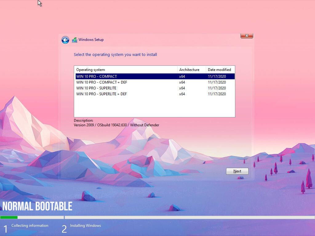 Windows 10 Pro 21H1 Build 19043.906 SuperLite Edition 64bit