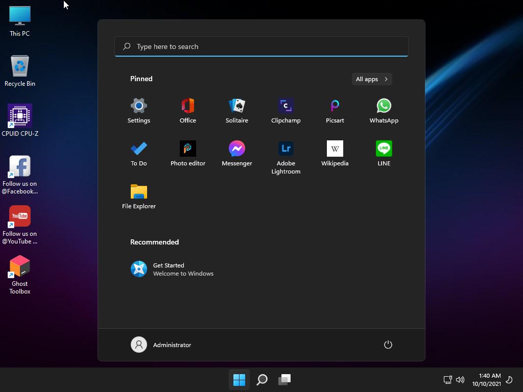 Sistem Operasi Windows 11 SuperLite